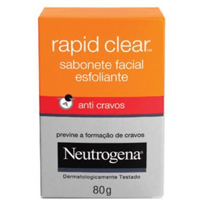 Imagem 1 do produto Deep Clean Rapid Clear Neutrogena - Sabonete Facial - 80g
