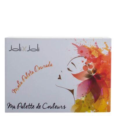 Imagem 4 do produto Ma Palette Couleurs Minha Paleta Dourada Joli Joli - Estojo de maquiagem - Estojo