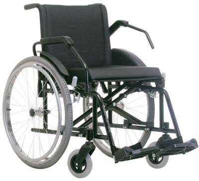 Imagem 2 do produto Cadeira de Rodas Poty Preta Jaguaribe