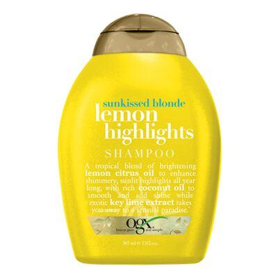 Imagem 1 do produto Organix Lemon Highlights Shampoo Organix - Shampoo Iluminador - 385ml