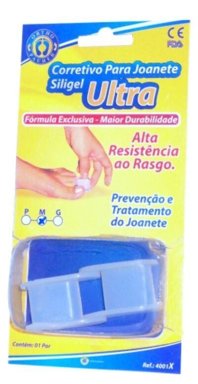 Imagem 2 do produto CORRETIVO PARA JOANETE SILIGEL ULTRA  4001X ORTHOPAUHE - CORRETIVO PARA JOANETE SILIGEL ULTRA 4001X ORTHOPAUHE