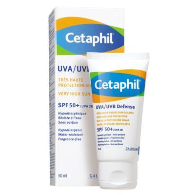 Imagem 1 do produto Cetaphil UVA/UVB Defense - Protetor Solar - 50ml