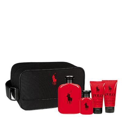 Polo Red Ralph Lauren - Masculino - Eau de Toilette - Perfume + Edt + Gel de Banho + Loção Pós Banho - Kit