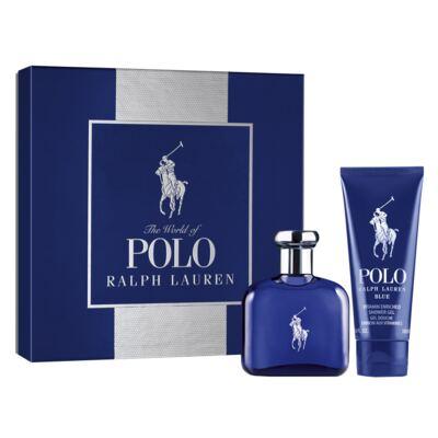 Polo Blue Ralph Lauren - Masculino - Eau de Toilette - Perfume + Gel de Banho - Kit