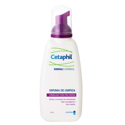 Cetaphil Dermacontrol Espuma de Limpeza - Limpeza Facial para Pele Oleosa - 236ml
