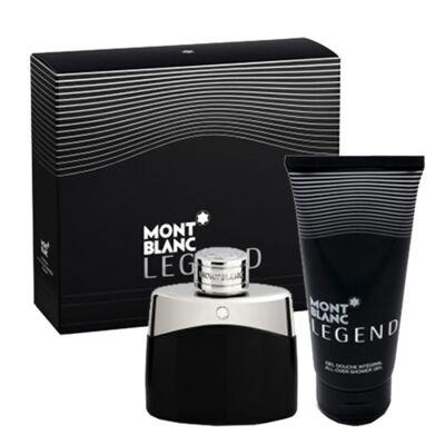 Imagem 1 do produto Legend Montblanc - Masculino - Eau de Toilette - Perfume + Gel de Banho - Kit
