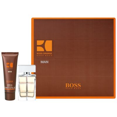 Boss Orange For Man Hugo Boss - Masculino - Eau de Toilette - Perfume + Gel para Banho - kit