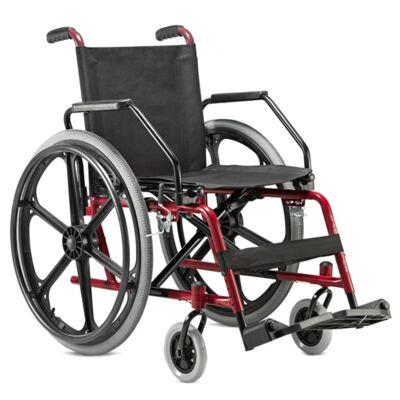 Cadeira de Rodas Cantu Vinho Jaguaribe