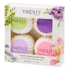 Yardley Mixed Soap Collection Kit - Sabonetes - 4x 50g