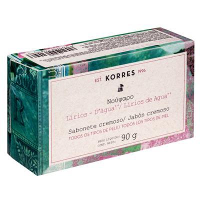 Imagem 1 do produto Sabonete em Barra Korres - Water Lily - 90g