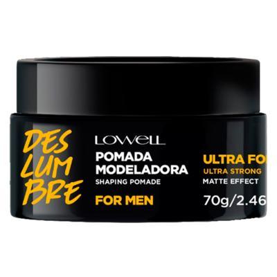 Lowell For Men Pomada Modeladora Ultra Forte - 70g