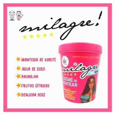 Imagem 2 do produto Lola Cosmetics Milagre! - Creme para Pentear - 450g