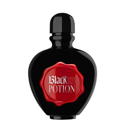 Black XS Potion for Her Paco Rabanne - Perfume Feminino - Eau de Toilette - 50ml