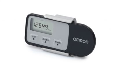 Imagem 2 do produto Monitor de Atividade e Calorias Pedômetro HJA-310 - Omron