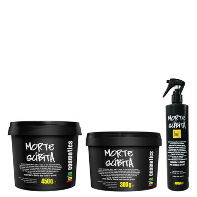 Kit Shampoo + Máscara + Spray  Lola Cosmetics Morte Súbita Super Hidratante - Kit