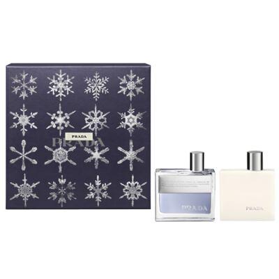Prada Amber Pour Homme Prada - Masculino - Eau de Toilette - Perfume + Loção Pós Barba - Kit