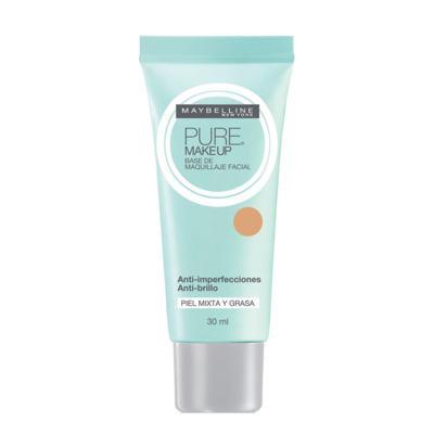 Pure Makeup Maybelline - Base Facial - Natural