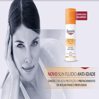 Imagem 5 do produto Protetor Solar Facial Eucerin - Sun Fluido Anti-Idade FPS 50 - 50ml