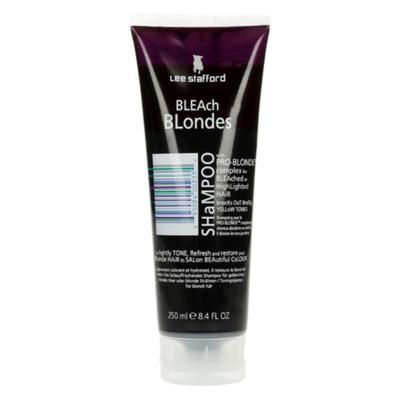 Imagem 4 do produto Lee Stafford Bleach Blonde Shampoo - Lee Stafford Bleach Blonde Shampoo 250ml