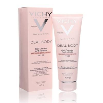 Imagem 3 do produto Vichy Ideal Body Gel Creme Antiidade FPS 20 - Vichy Ideal Body Gel Creme Antiidade FPS 20 100g
