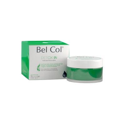 Imagem 3 do produto Bel Col Detox In Mascara Facial Safira Hidratante - Bel Col Detox In Mascara Facial Safira Hidratante 50g