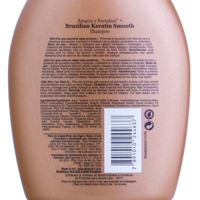 Imagem 2 do produto Shampoo Ogx - Brazilian Keratin Smooth | 250ml