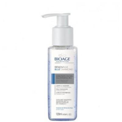 Imagem 1 do produto Sabonete Liquido Facial Bioage Renovage Blue Diamond - 120ml