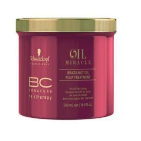 Schwarzkopf BC Bonacure Oil Miracle Brazilnut - Máscara de Tratamento - 500ml