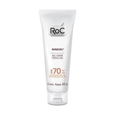Imagem 1 do produto Roc Minesol Antioxidant Protetor Solar FPS 70