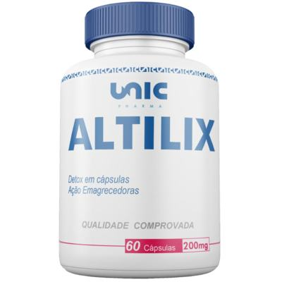 Altilix 200mg 60 caps - Detox em cápsulas Unicpharma