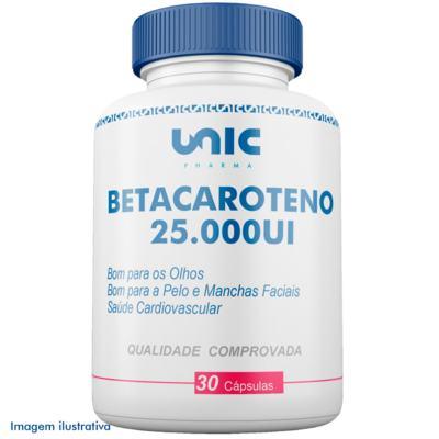 Betacaroteno 25000ui - 30 Cápsulas