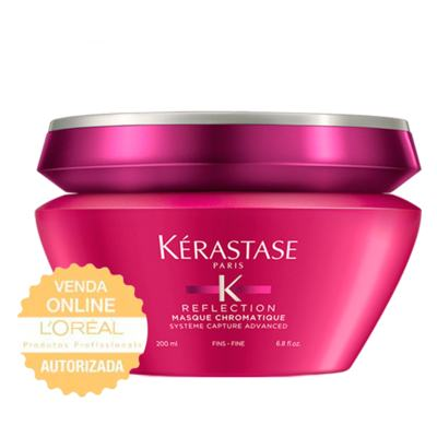 Imagem 1 do produto Kérastase Reflection Chromatique para Cabelos Finos - Máscara de Tratamento - 200ml