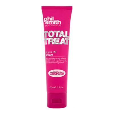 Imagem 2 do produto Kit Creme de Pentear + Protetor Térmico Phil Smith Total Treat Argan Oil - Kit