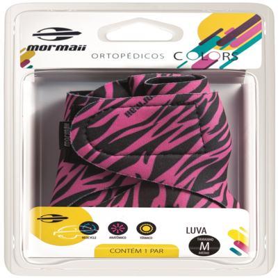 Imagem 1 do produto Luva Colors Zebra Pink Mormaii - M
