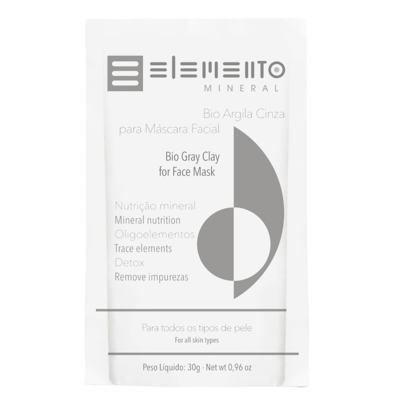 Imagem 1 do produto Máscara Facial Elemento Mineral - Argila Cinza - 30g