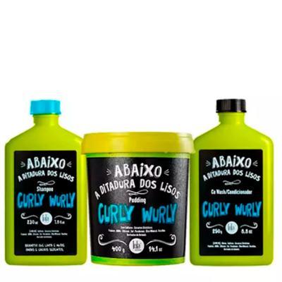 Imagem 2 do produto Lola Cosmetics Curly Wurly Co-Wash No-Poo 2 em 1 - Shampoo Condicionante - 230ml