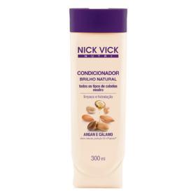 Nick & Vick Nutri-Hair Brilho Natural - Condicionador Iluminador - 300ml