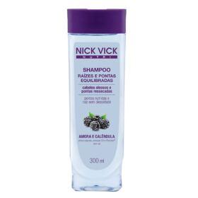 Nick & Vick Nutri-Hair Raízes e Pontas Equilibradas - Shampoo - 300ml