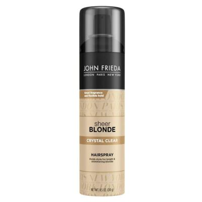 Imagem 1 do produto John Frieda Sheer Blonde Crystal Clear Holds Finishes - Spray Fixador - 240g