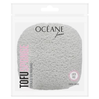 Imagem 1 do produto Tofu Sponge Océane - Esponja para Banho - 1 Un