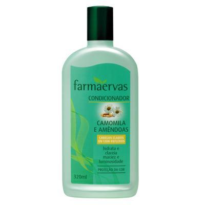 Farmaervas Camomila e Amêndoas - Condicionador - 320ml