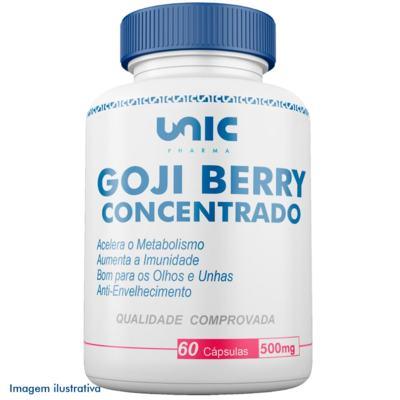 Goji berry 500mg concentrado - 60 Cápsulas