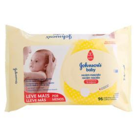 Lencos Umedecidos Johnsons Baby - Recem Nascido | 96 unidades