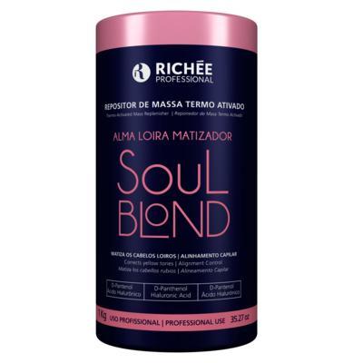 Imagem 1 do produto Richée Professional Soul Blond - Máscara Repositora de Massa Termo Ativado - 1Kg
