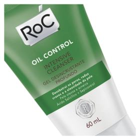 Gel de Limpeza Roc Oil Control - Intensive Cleanser | 60ml