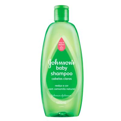 Imagem 1 do produto Kit Johnson Baby - Shampoo para Cabelos Claros - Kit