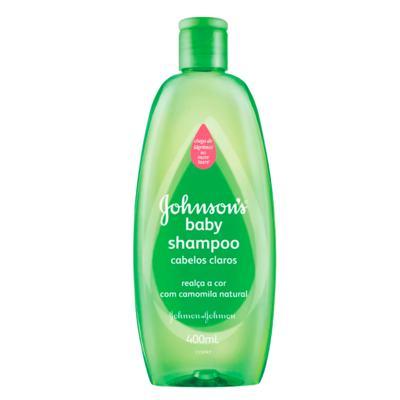 Imagem 2 do produto Kit Johnson Baby - Shampoo para Cabelos Claros - Kit