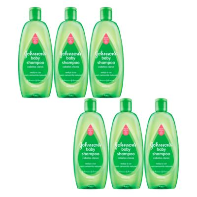 Imagem 3 do produto Kit Johnson Baby - Shampoo para Cabelos Claros - Kit
