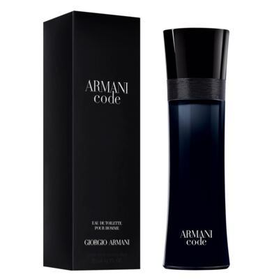 Imagem 2 do produto Armani Code Giorgio Armani - Perfume Masculino - Eau de Toilette - 125ml