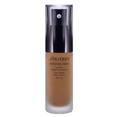 Imagem 1 do produto Synchro Skin Lasting Liquid Foundation SPF 20 Shiseido - Base Líquida - G5 - Golden 5